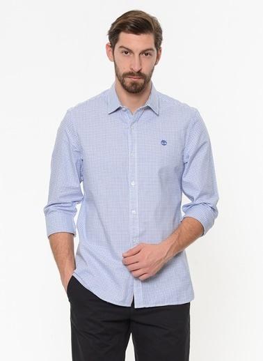 Timberland Uzun Kollu Gömlek Mavi